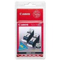 Cartridges, toners for printers Canon PGI-520BK Twin Pack