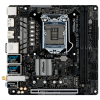 Motherboards ASRock H370M-ITX/ac