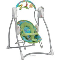 Rocking chairs, loungers for children GRACO Swing'n'Bounce