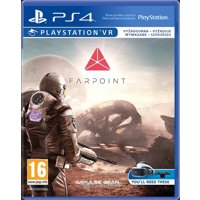 Games for consoles and PC Farpoint (PS4 VR)